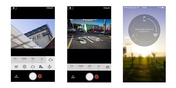 Application iOS 7 Leica T