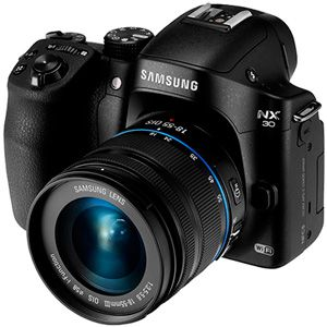 Samsung NX30 test review
