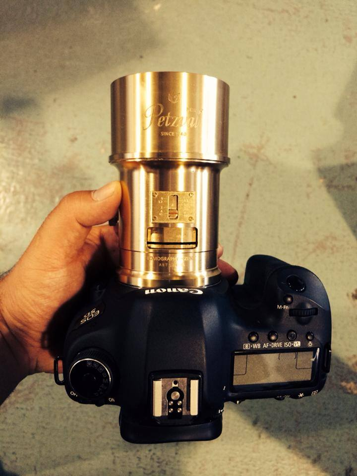 Objectif Lomography Petzval