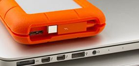 Disque externe LaCie Rugged : plus costaud, et en Thunderbolt