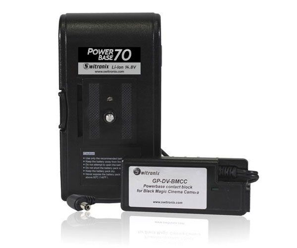 Batterie d'appoint rechargeable Witronix Power Base 70 PB70-BMCC