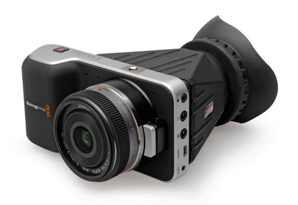 Viseur Zacuto Z-Finder pour Blackmagic Pocket Cinema Camera