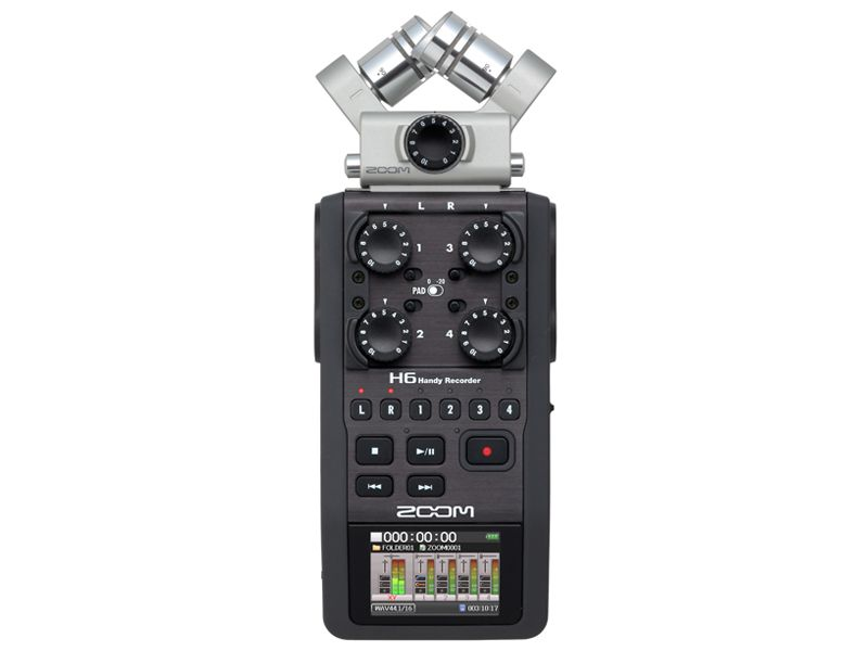 Enregistreur audio de poche Zoom H6