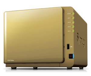 NAS Synology DS415 Play édition collector Gold