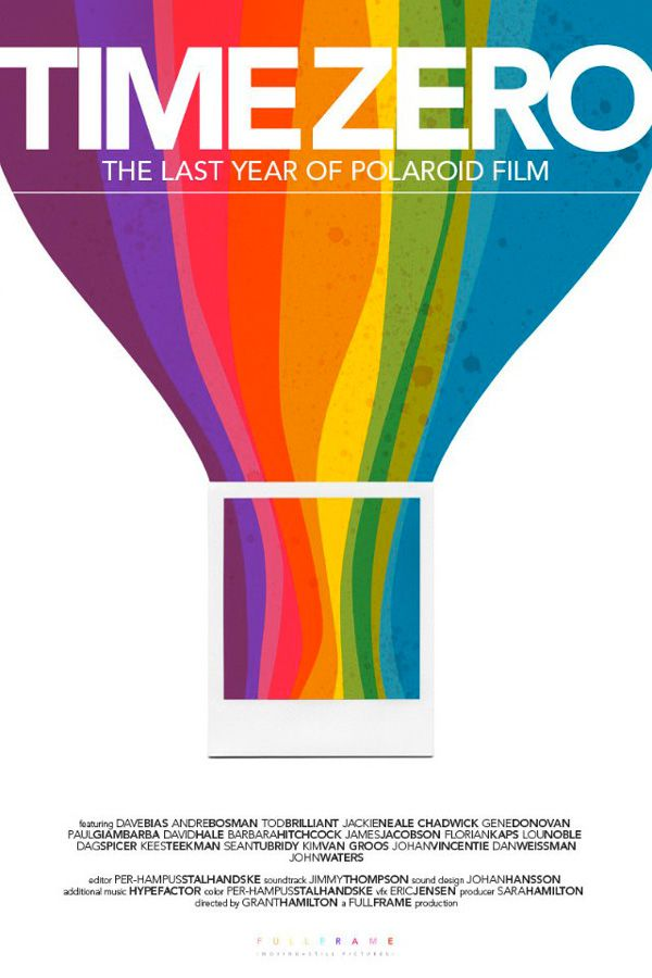 Time Zero, the last year of Polaroid film, affiche du documentaire