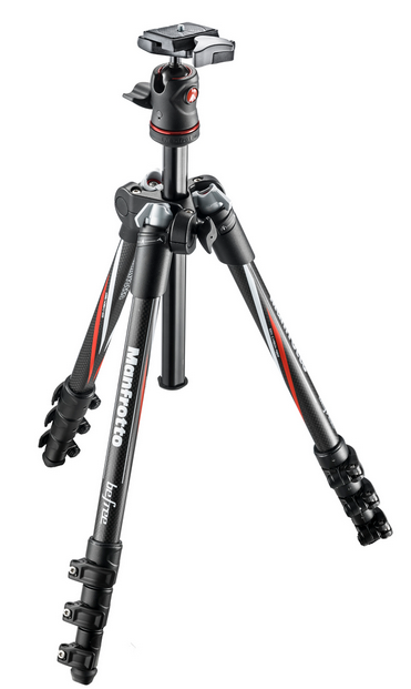 Trépied Manfrotto BeFree carbone