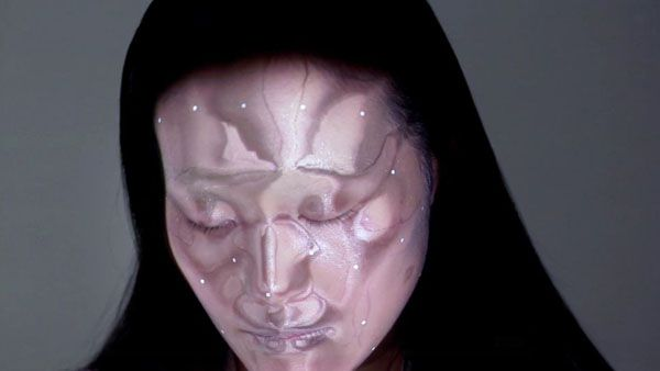 Face tracking en temps réel, studio Nobumichi Asai, Japon