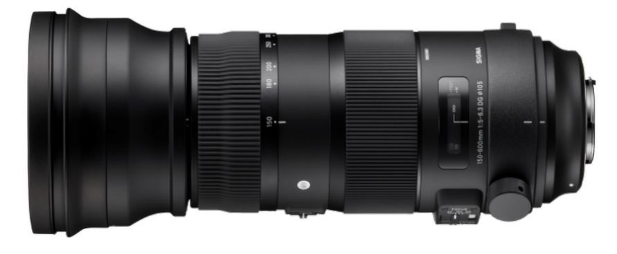 Sigma 150-600 mm f/5-6,3 DG OS HSM Sport Gamme S