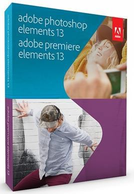 Adobe Premiere Elements 13, Adobe Photoshop Elements 13, pack