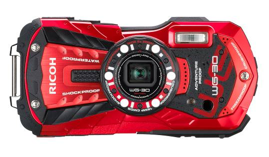 Compact sportif Ricoh WG-30 shockproof, waterproof