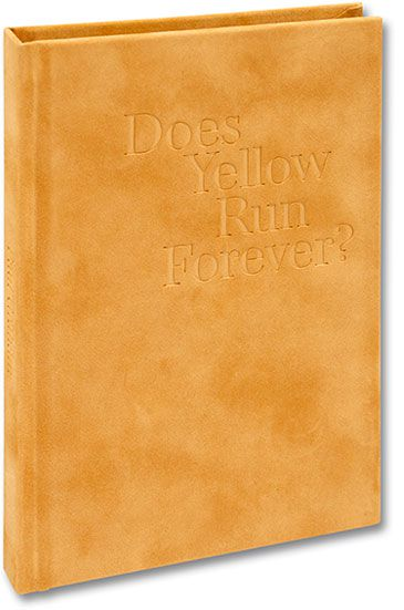Paul Graham, Does Yellow Run Forever, éditions MACK, couverture