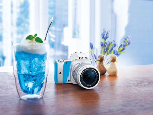 Pentax K-S1 Sweets Collection blue cream soda