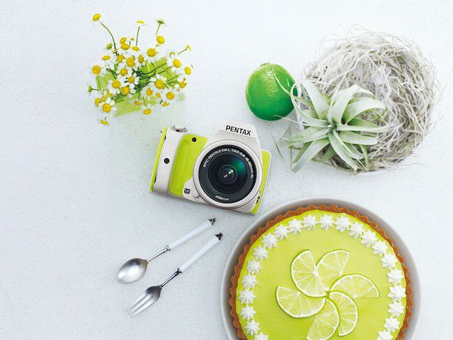 Pentax K-S1 Sweets Collection lime pie