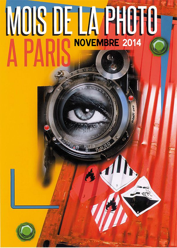 Mois de la photo 2014, Paris, affiche