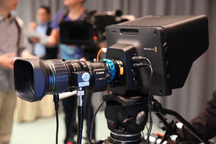 Blackmagic Design Conference 2014, Studio Camera