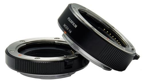 Bague allonge Fujifilm en monture X