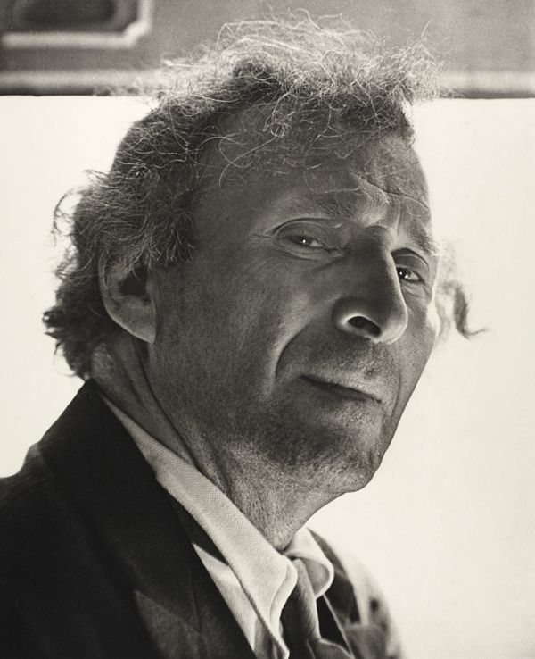Roman Vishniac, Marc Chagall, New York, 1941, photographie