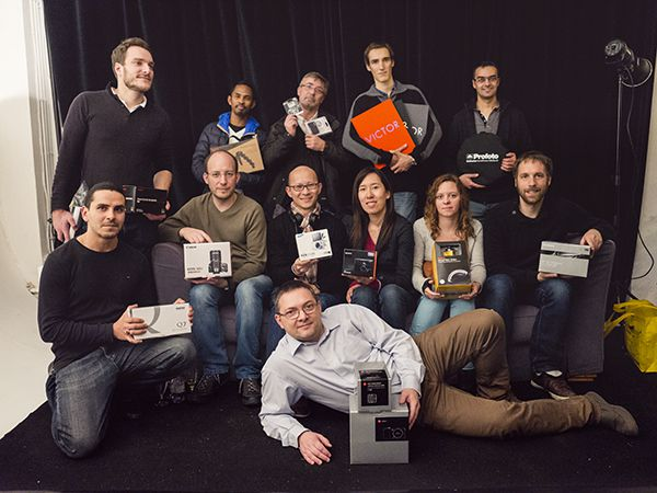 Club Photo Focus Noël 2014, les gagnants du tirage au sort