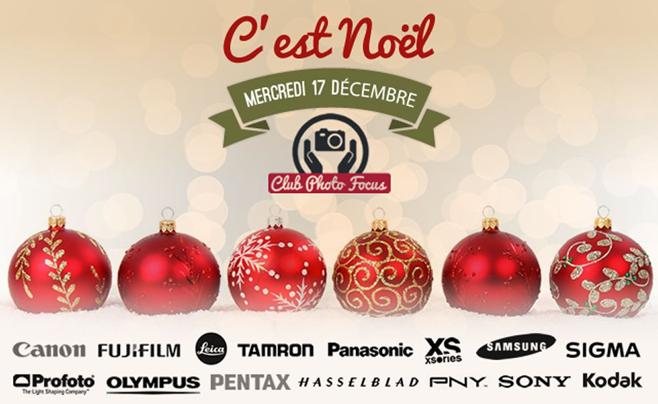 Club Photo Focus Noël 2014, visuel