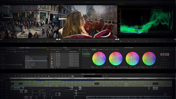 Avid Media Composer, capture d'écran