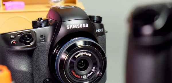Samsung NX1 dans les Mirrorless Party de Camera Store