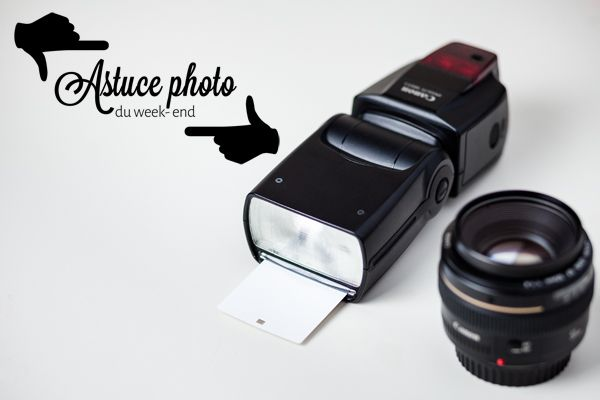 Astuce photo : le flash cobra en lumière indirecte