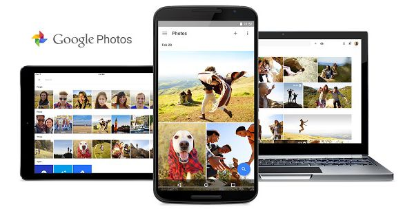 Le nouveau service Google Photos