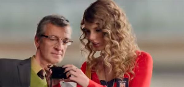Taylor Swift et le Sony TX7