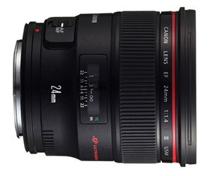Canon 24 mm f/1,4l II USM test review