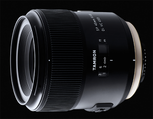 Tamron SP 45 mm f/1,8 Di VC USD