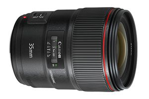 Objectif Canon EF 35mm F1.4 L 2 USM test review