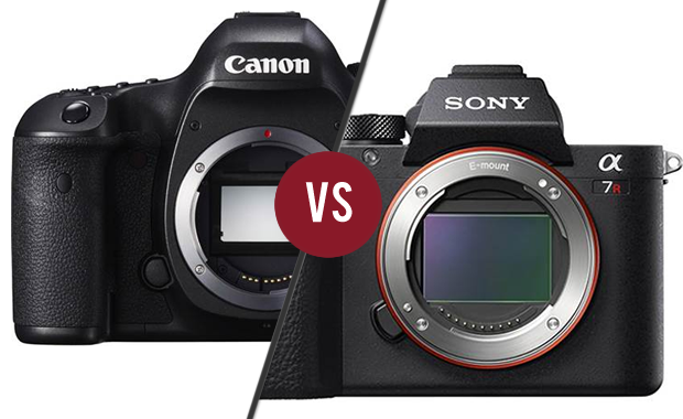 Duel - Canon EOS 5DsR vs Sony A7R II