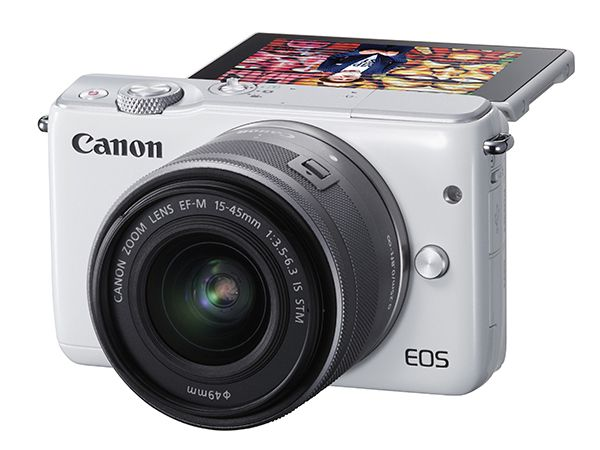 Canon EOS M10 et EF-M 15-45 mm f/3,5-6,3 IS STM