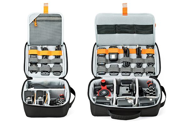 Lowepro ViewPoint CS60 et CS80, sac et mallette de transport pour action cam de type GoPro