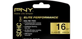 Cartes SD PNY Elite Performance UHS-I U3 : le test