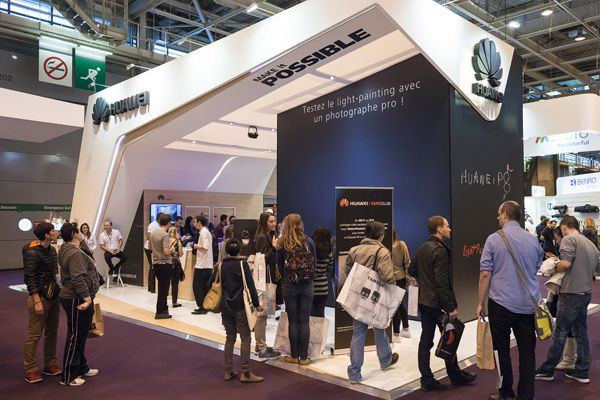 Salon de la Photo 2015 : rencontre avec Vincent Vantilcke Directeur Marketing Huawei France