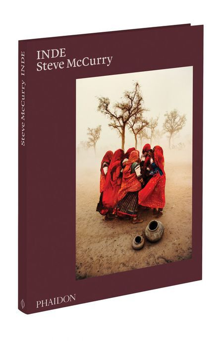 Steve McCurry, Inde, couverture