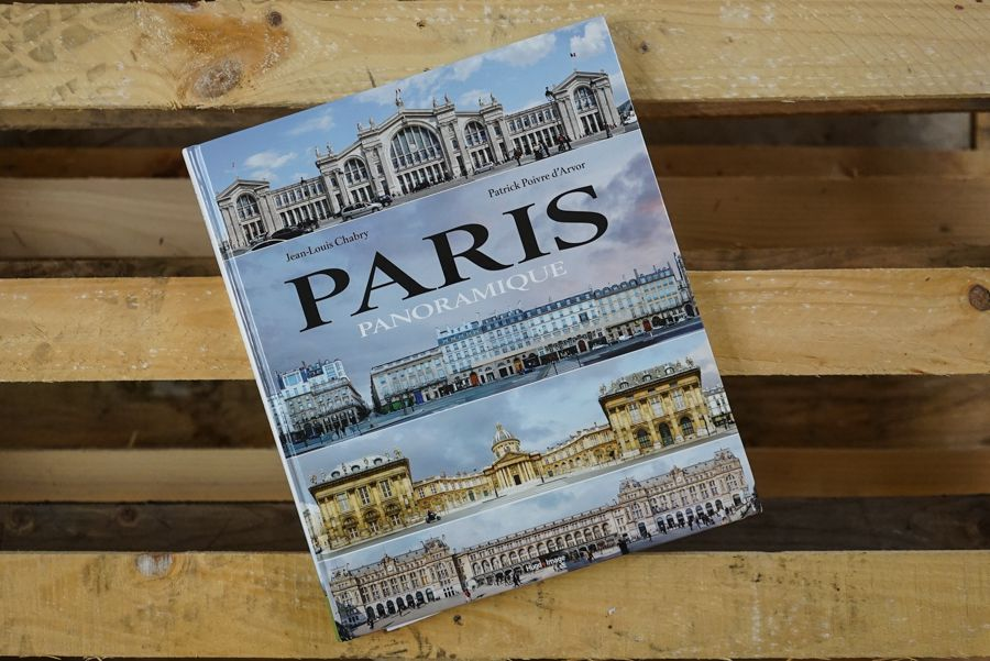 Livre Paris panoramique, Crédit photo : Jean-Louis Chabry