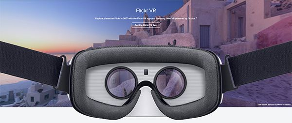 Flickr VR Samsung Gear VR
