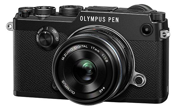 Olympus Pen F kit 17 mm f/1,8 test review