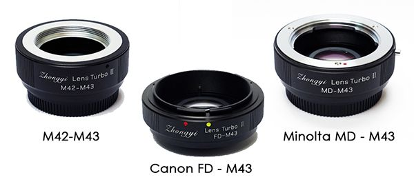 Zhongyi Optics Lens Turbo II