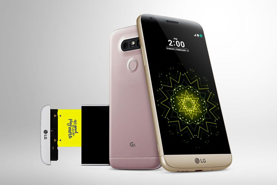 LG G5 Mobile World Congress 2016