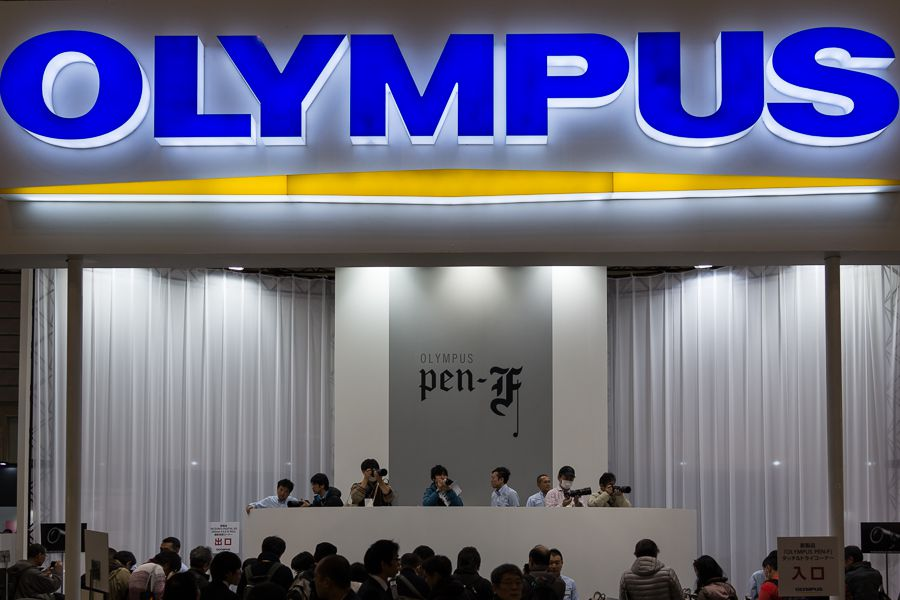 CP+ 2016 : stand Olympus