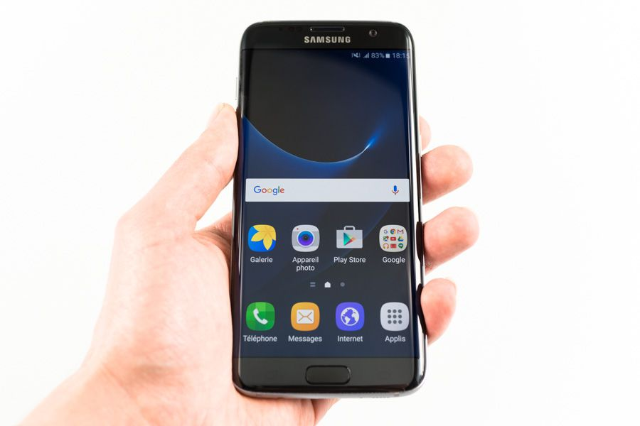 Prise en main Samsung Galaxy S7 edge