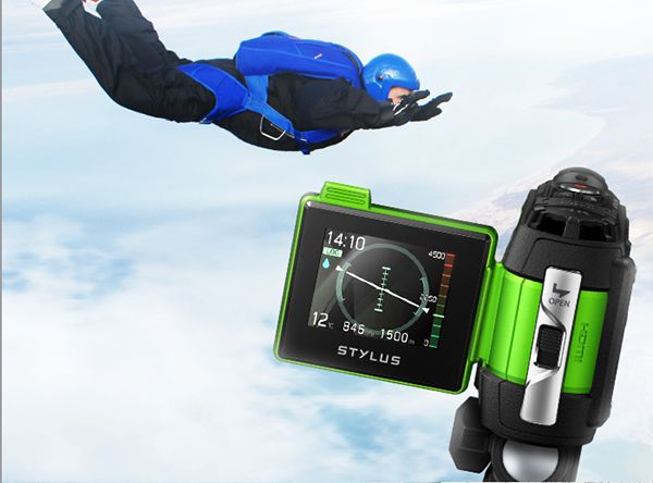 Caméscope action-cam baroudeur Olympus Stylus Tough TG-Tracker