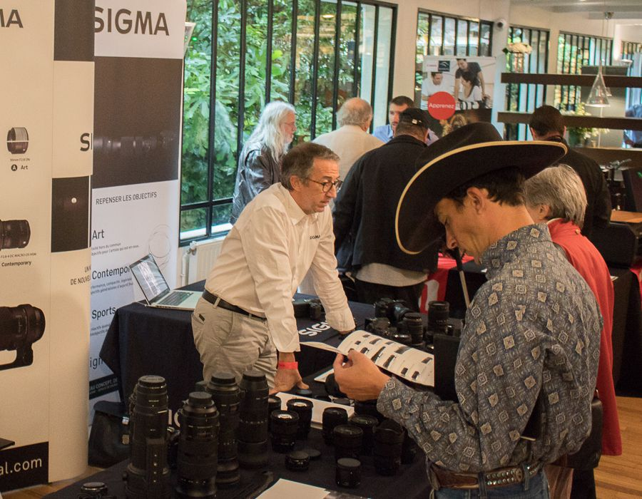 Forum Pro-Images 2016 stand Sigma