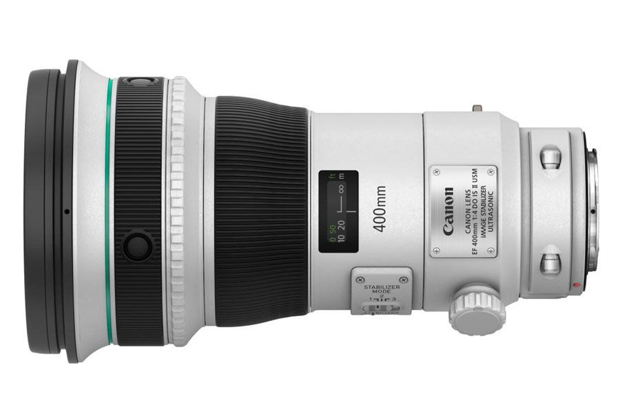 Canon EF 400 mm f/4 DO IS II USM.