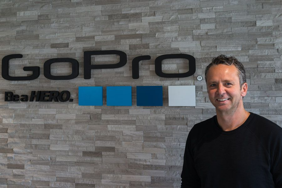 Charles CJ Prober, Senior Vice President of Software and Services de GoPro, portrait par Renaud Labracherie