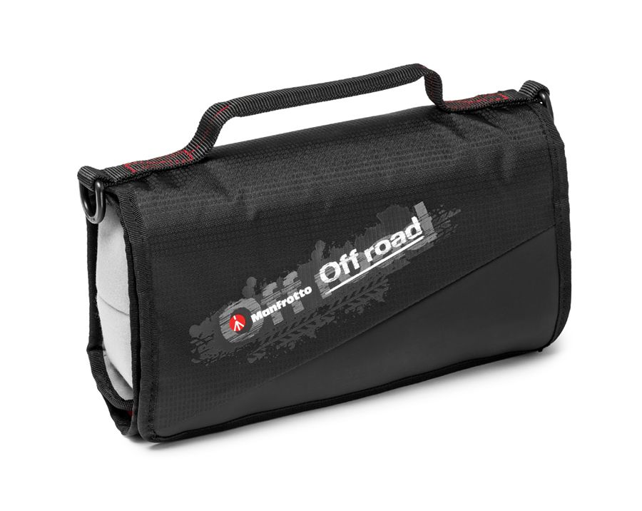 Organizer souple Manfrotto Off road Stunt, fermé
