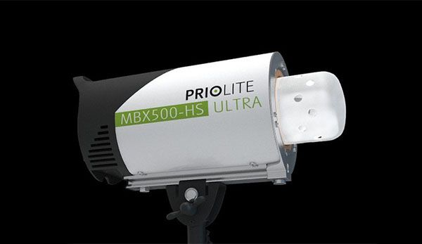 Flash autonome Priolite MBX500HS Ultra